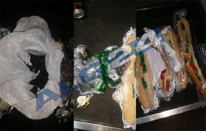Aéroport d'Alger: un couple arrêté avec 3 kg de poudre explosive cachés dans des sandwiches