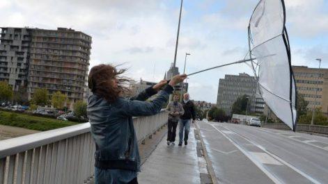 Alerte Météo : Des rafales de vent à 80 km/h sur 6 wilayas