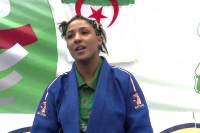 Amina Belkadi refuse d'affronter son adversaire d'Israël
