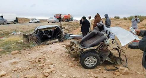 Accident de la route : 5 morts d'une même famille à M'Sila