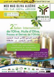 MED MAG OLIVA ALGERIE 2018 : Salon International de l'Olive, Huile d'Olive, Process& Dérivés de l'Olivier