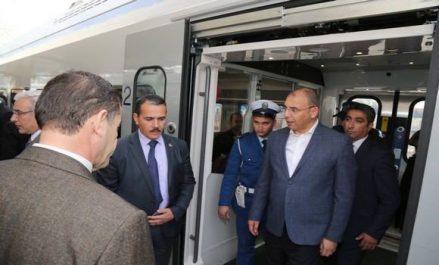 Mise en service commercial du 1e train Coradia Algérie et inauguration de la nouvelle gare ferroviaire Agha
