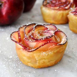 Croûte feuilletée aux pommes