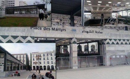 Station de métro de la Place des martyrs: site archéologique en quête d'un aménagement moderne