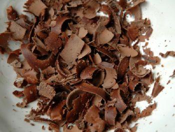 Obtenir des copeaux de chocolat