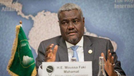 Le Président de la Commission de l'UA en visite en Algérie à partir de samedi
