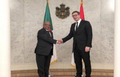 Messahel reçu par le Président de la République de Serbie