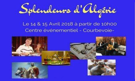 «Splendeurs d'Algérie» prochainement à Courbevoie