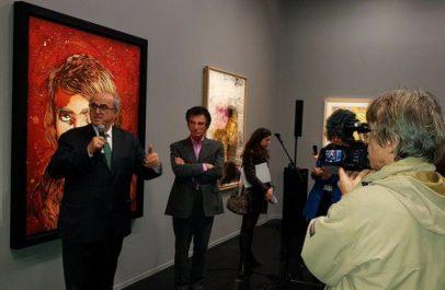 Vernissage de l'exposition «Pour un musée en Palestine» à l'IMA de Paris