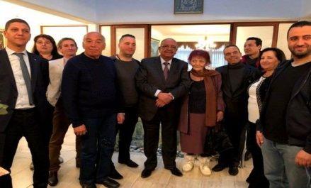 Messahel rencontre à Sofia des membres de la communauté nationale établie en Bulgarie