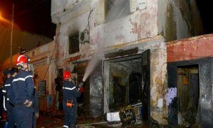 Oran: explosion dans un dépôt de bouteilles de gaz butane fait un mort