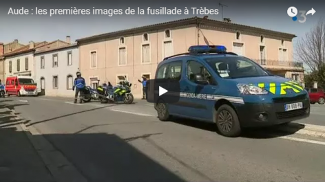 France: Prise d'otages dans un supermarché, le tireur retranché se réclame de Daech (vidéo)