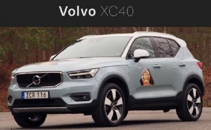 Salon de Genève 2018 : « Car of the Year 2018 » pour la Volvo XC40