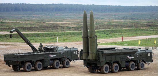 La Russie livre un système de missile balistique à l'Algérie