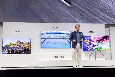 Samsung annonce sa nouvelle gamme télé de Divertissements à domicile pour l'an 2018