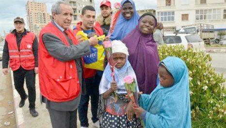 Migrants Migrants subsahariens à Oran : Le CRA lance une opération de solidarité