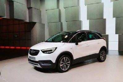 Groupe PSA : Déjà 100.000 commandes pour l'Opel Crossland X