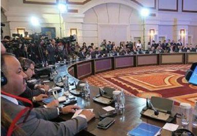 Processus de paix pour la syrie : Rencontre tripartite à Astana