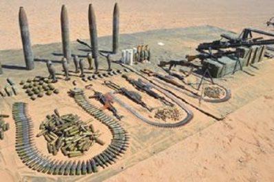 L'anp exploite des renseignements vérifiés : Un arsenal de guerre découvert à Bordj Badji Mokhtar