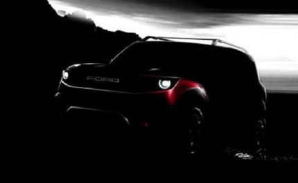 Ford : Un «baby Bronco» s'annonce chez Ford
