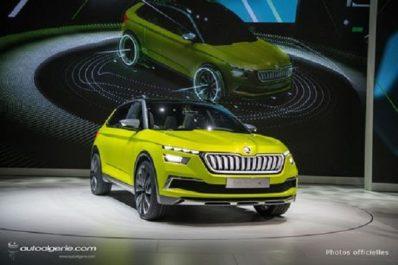 Salon de Genève 2018 : Skoda dévoile le Concept Vision X, prélude du futur crossover tchèque