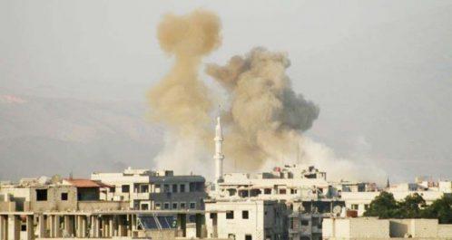 Syrie : Poursuite de l'offensive du régime contre la Ghouta