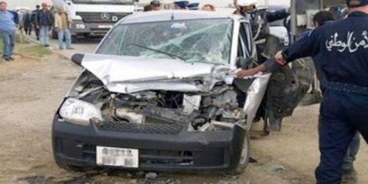 Accident de la route à Tiaret : Deux morts dont un policier à Hamadia