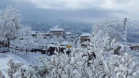 Nos montagnes se couvrent de blanc !