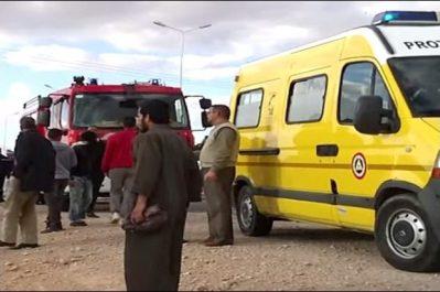 Oum El Bouaghi : 2 morts et 15 blessés suite au renversement d'un autocar à Ksar S'bihi