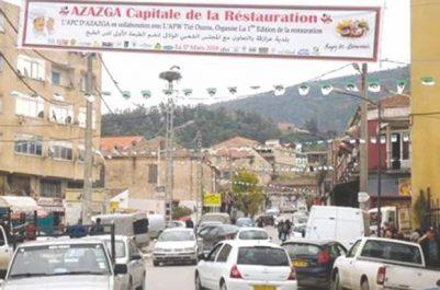 AZAZGA (TIZI OUZOU) : Première édition de la Fête de la restauration