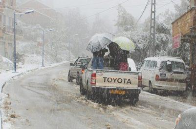 Après les fortes chutes de pluie et de neige : Retour à la normale à Béjaïa et à Tizi Ouzou