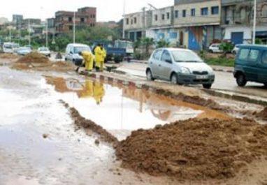 TISSEMSILT : La cité des 165 lots coule dans la boue