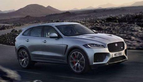 Salon de New York 2018 : Jaguar dévoile le F-Pace SVR de 550 chevaux