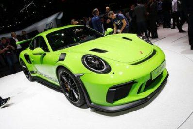 Salon de Genève 2018 : Porsche 911 GT3 RS