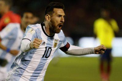 Le Mondial en Russie, la dernière chance de l'Argentine selon Messi