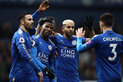 Leicester – Mahrez : «Le but de Vardy est fantastique»