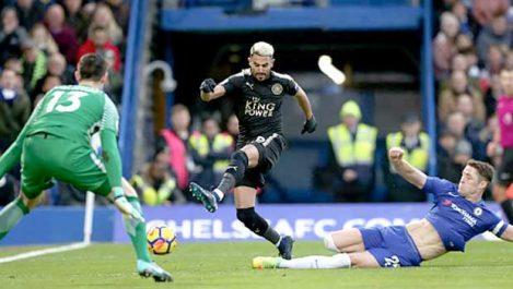 Mahrez : «Battre Chelsea en FA Cup est important»