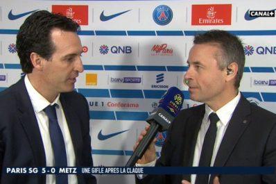 PSG – Emery :»Nous vivons des résultats»