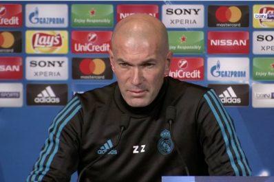 Real – Zidane : «Un joueur à 70 ou 80% ne jouera jamais»