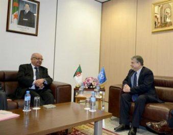Messahel reçoit le directeur du bureau régional du PNUD pour les Etats arabes