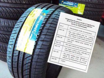 Ouyahia introduit une nouvelle taxe sur les pneus importés