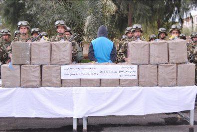 Algérie : énorme saisie de kif traité à l'Ouest du pays (Photos)