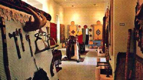 Objets archéologiques du musée saharien de Ouargla
