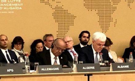 Messahel expose à Paris les conclusions de la Conférence d'Alger sur la lutte contre le financement du terrorisme