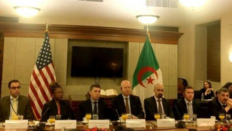 Raouya rencontre à Washington la communauté d'affaires américaine