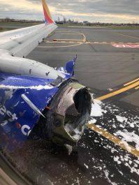 Un avion de Southwest Airlines atterrit d'urgence suite à l'explosion d'un de ses réacteurs en plein vol