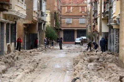 Batna: infiltrations dans les maisons et dommages à certains axes routiers