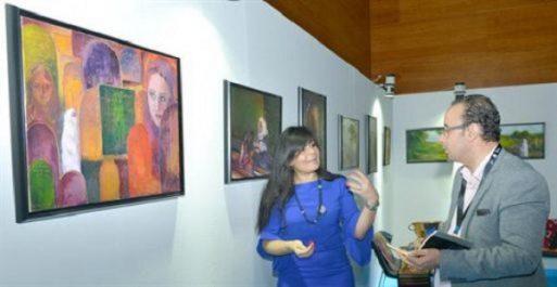 Les arts plastiques présents aux JST de Sonatrach à Oran