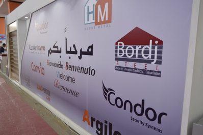 21ème édition du salon international du Bâtiment, des Matériaux de Construction et des Travaux Publics, BATIMATEC: Condor Group présente ses produits à travers ses filiales
