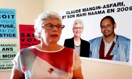 Claude Mangin-Asfari plus que jamais déterminée, entame sa 2e semaine de grève de la faim